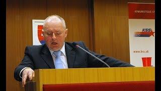 Programová konferencia KSS - Jozef Hrdlička thumbnail