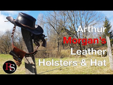 Making Arthur Morgan's Leather Holster & Hat - Red Dead Redemption 2 thumbnail