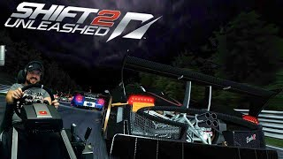 Заруба на выносливость в Spa GT во тьме  на РАЙСКОЙ(НЕТ) Pagani Zonda R  Shift 2: Unleashed