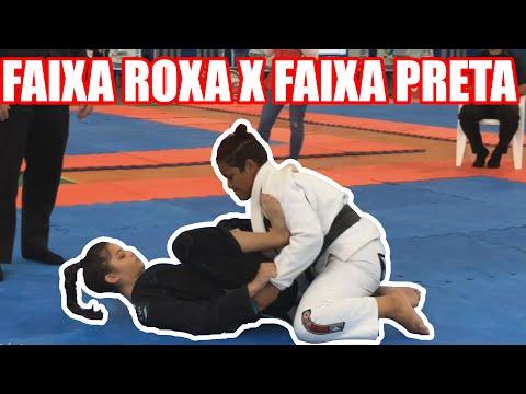 FAIXA ROXA VS FAIXA PRETA - Jiu Jitsu