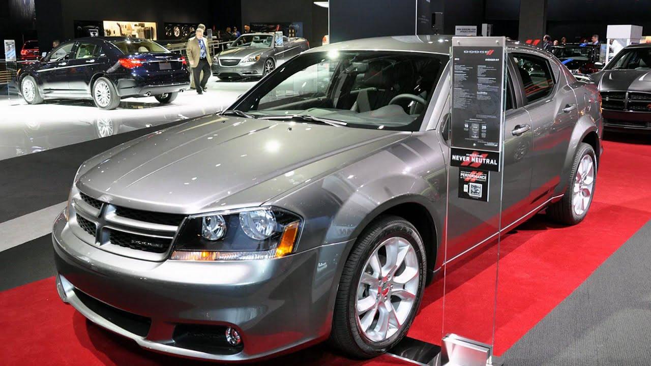 2012 Dodge Avenger R T 2011 New York Auto Show Youtube