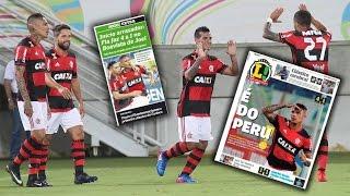 MIGUEL TRAUCO  y PAOLO GUERRERO II Boavista 1 vs Flamengo 4 // goles y mejores jugadas