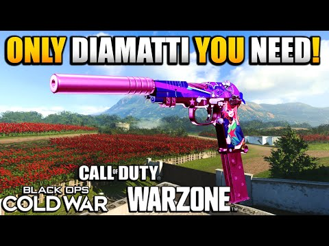 Best Secondary After Update? |  How to Make the Best Possible Diamatti Class Setup for WARZONE
