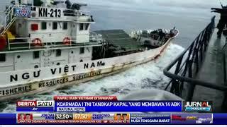 TNI Tabrak Kapal Vietnam untuk Penangkapan