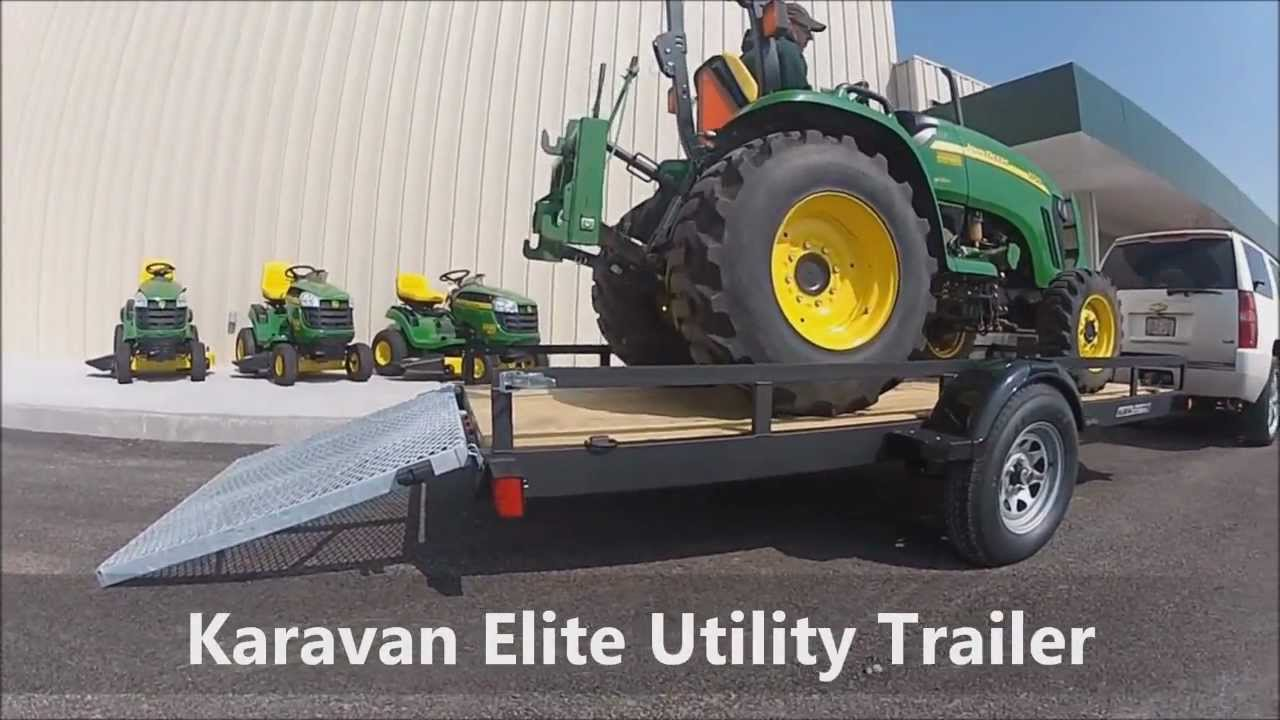 6 X 10 Utility Trailers For Sale Youtube