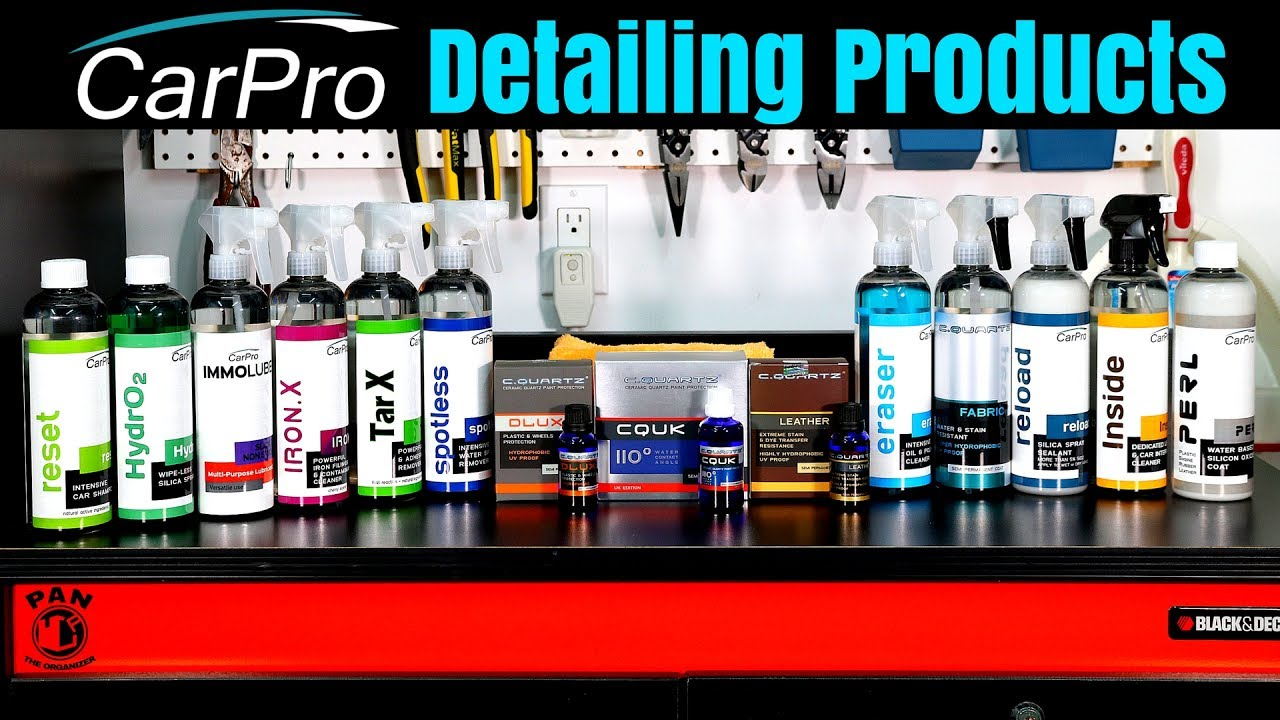 Carpro Detailing Products Brand Review Ft Cquartz Reset Hydro2 Inside Reload And Perl