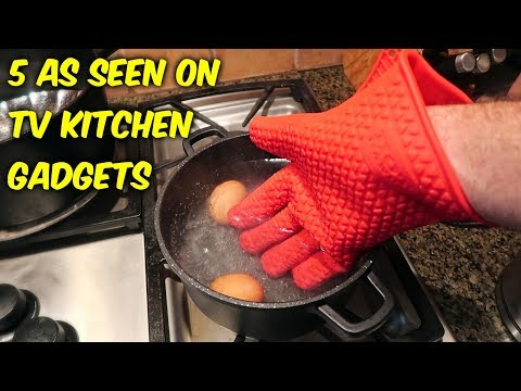 5 As Seen on TV Kitchen Gadgets put to the Test