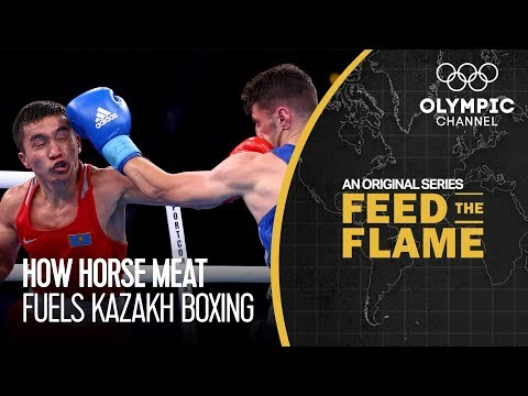 Kazakh Boxing and Culture Share the Importance of Horse Meat