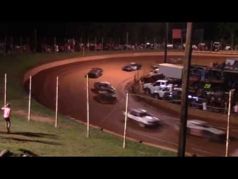 Winder Barrow Speedway Stock 4 Cylinder Race Fight Mace 6/20/15