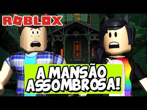 FUGINDO DA MANSÃO ASSOMBROSA! – Roblox