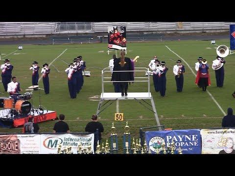 Bartlett Yancey High School Buccaneer Band 10/20/2018