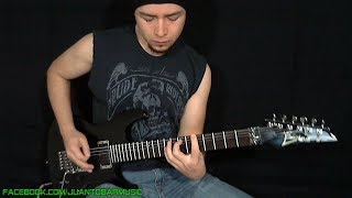 PANTERA / Dimebag Darrell - Floods Guitar Solo / Outro Cover by Juan Tobar + FREE Backing Track