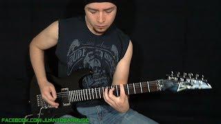 PANTERA / Dimebag Darrell - Floods Guitar Solo / Outro Cover by Juan Tobar + FREE Backing Track