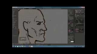 Blender tutorial en francais  Low Poly Character   By Profiz