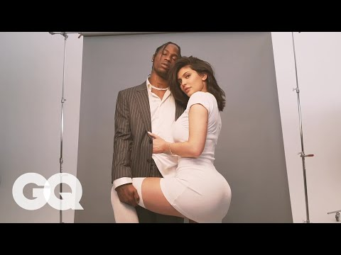 Kylie Jenner and Travis Scott's GQ Cover Shoot Behind the Scenes   GQ