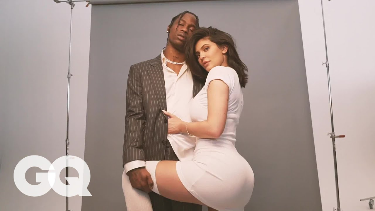 Kylie Jenner and Travis Scott's GQ Cover Shoot Behind the Scenes