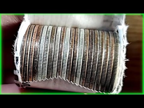 UNBELIEVABLE!!! COIN ROLL HUNTING HALF DOLLARS!!!