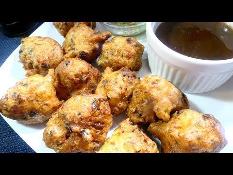 Saltfish Accras (Saltfish Fritters) | Taste of Trini