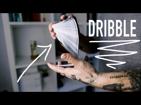 How to DRIBBLE Playing Cards - Tutorial