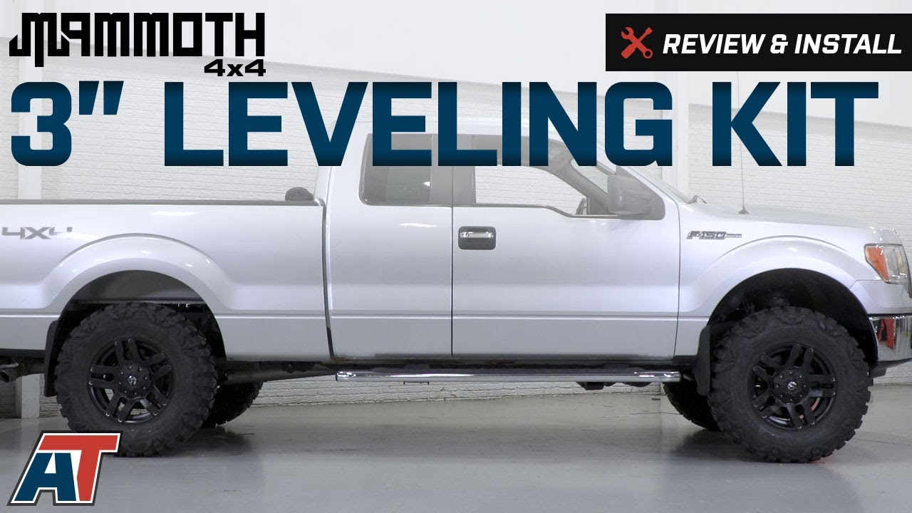 2004 2008 F150 Mammoth 3 Leveling Kit Review Install Youtube