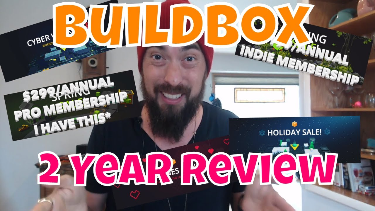 🥳Buildbox📦2 Year🎊Review🥳Best time to Purchase Buildbox