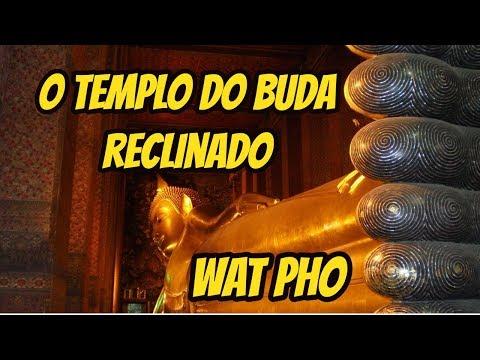 BUDA RECLINADO, WAT ARUN, CHINATOWN - TAILÂNDIA #3