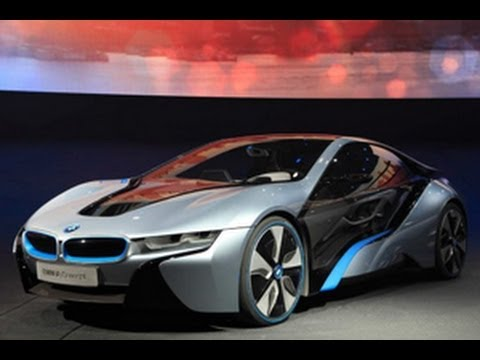 Bmw I3 Concept And Bmw I8 Hybrid Concept Youtube