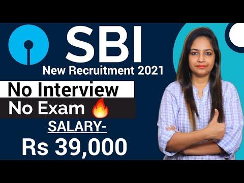 SBI New Recruitment 2021   SBI Vacancy 2021 BEL Recruitment 2021  Govt Jobs Sep 2021