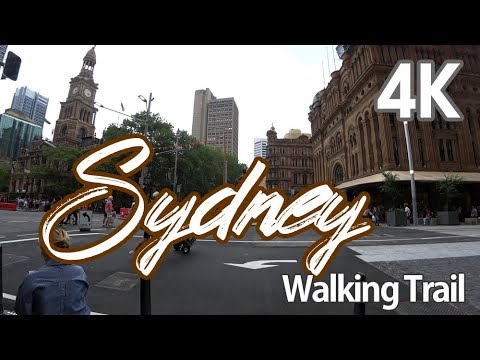 【4K SYDNEY AUSTRALIA】 Walking Trail Sydney's Fashion Centre George St, Heart of Sydney CBD(1)