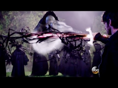 Once Upon A Time 5x11 Hook Stops Nimue from Hurting Emma