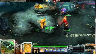 Dota 2 - Golden Doomling Ingame Preview