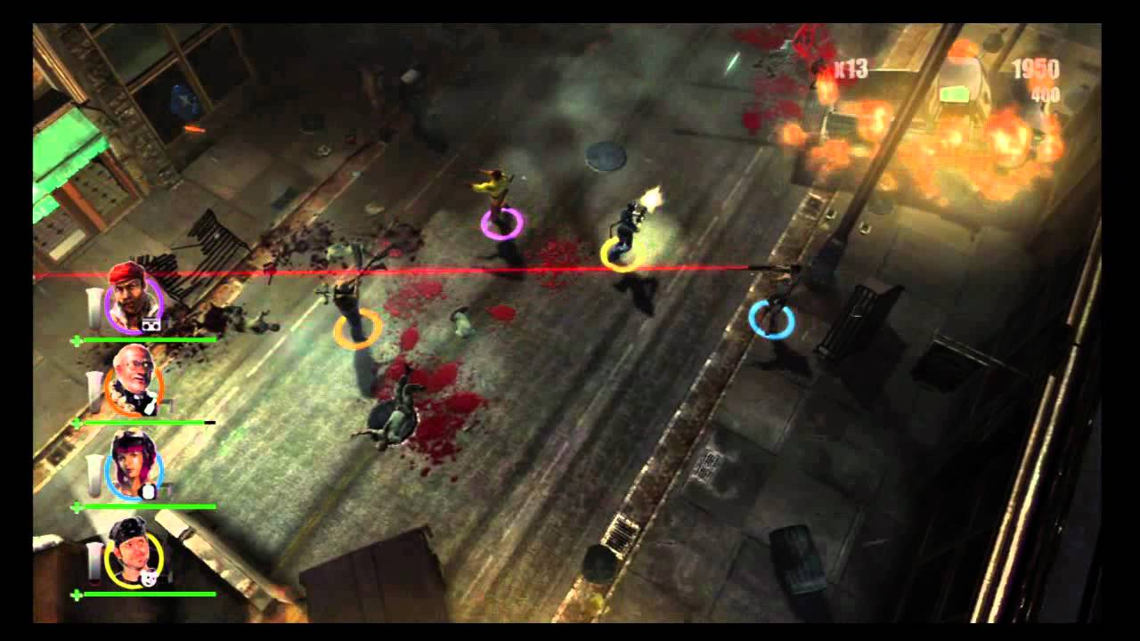 4 player zombie games for ps3