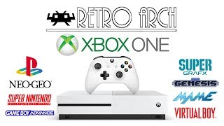 RetroArch On The Xbox One - Early Showcase