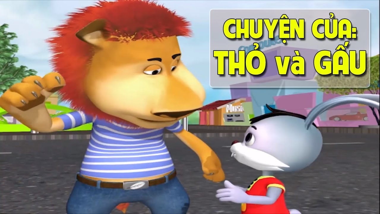 Chuyện Của Thỏ và Gấu | Phim 3D Hoạt Hình Việt Nam Mới Nhất