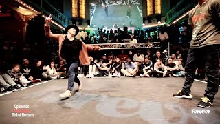 1st round battles MOGWAI Vs. SNOW House Dance Forever Feb. 2015