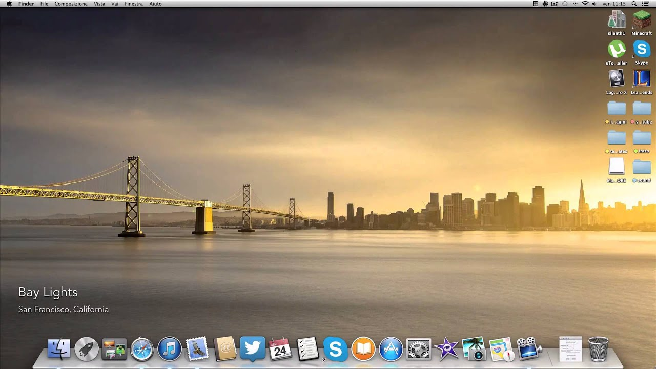 Desktop wallpaper che si muove con magic window youtube for Sfondi spettacolari