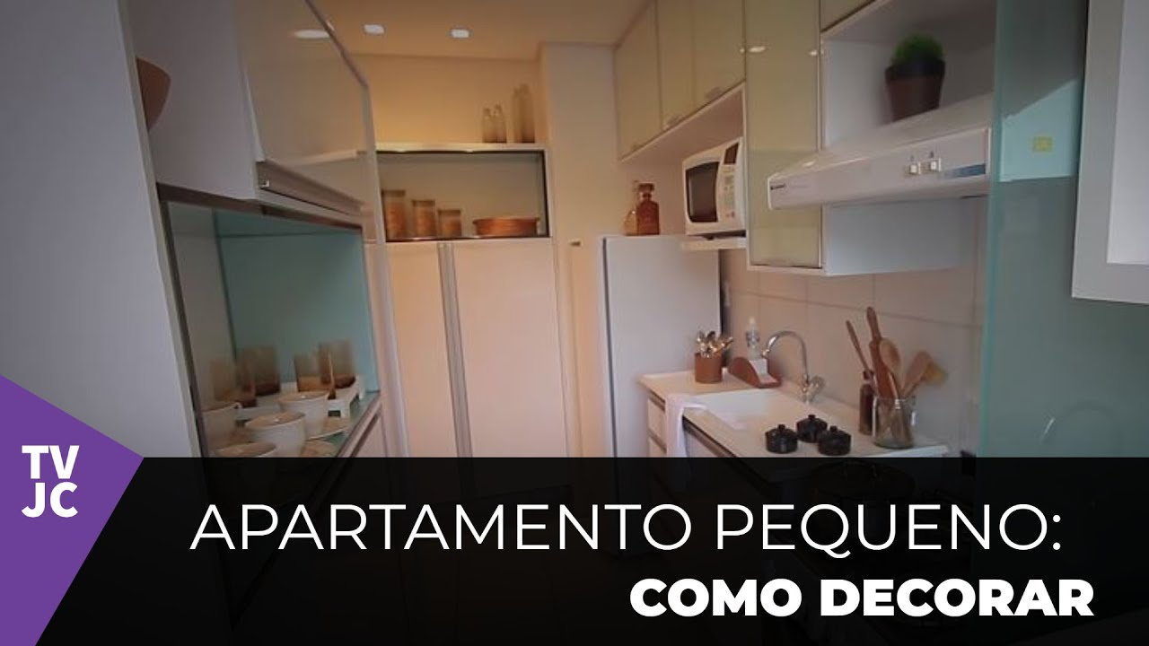 Como decorar um apartamento pequeno youtube for Decorar casa de 45m2