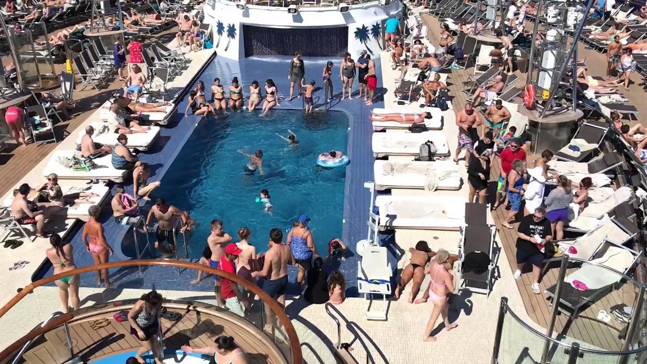 MSC seaside pool bikini