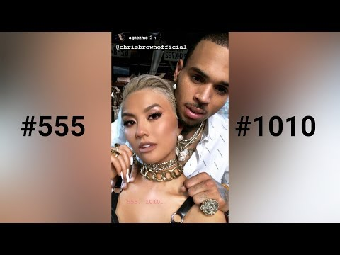 AGNEZ MO x Chris Brown - #555 #1010
