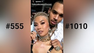 Video AGNEZ MO x Chris Brown - #555 #1010 download MP3, 3GP, MP4, WEBM, AVI, FLV November 2018