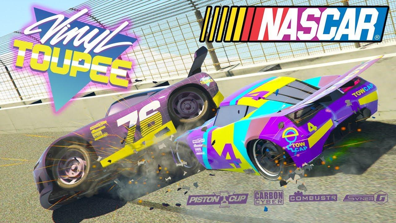 Cars 3 Vinly Toupee 76 Zip Joltline Nascar Racing