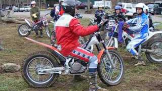 How to hop the rear wheel - Motorcycle Trials