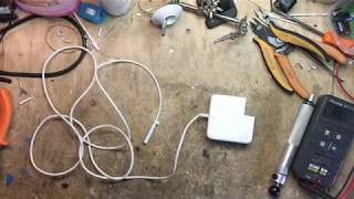 Apple MacBook Magsafe Shorted Cable DIY Repair (How-to guide)