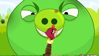 Angry Birds Cannon Collection 1 - BLAST THE GIANT PIGGIES WITH TNT BOMB!!