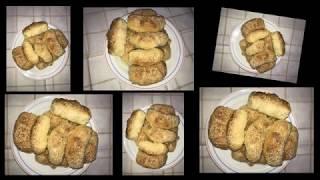 Croissants mit Schinken Rezept/Kiflice sa suvim mesom