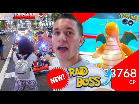 FOR THE FIRST TIME IN POKÉMON GO DRAGONITE IS NOW A RAID BOSS! + WE IN JAPAN!