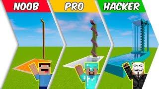 M RL NOOB Vs PRO Vs HACKER COOL POOLS   Minecraft Animation