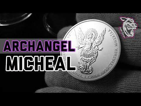 Ukrainian Archangel Michael Silver Bullion Coin - Silver Bullion