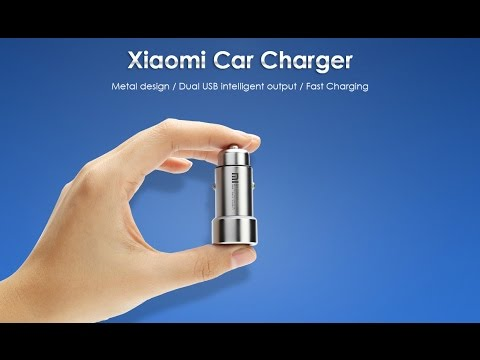 Cargador Para Coche Xiaomi Car Charger Unboxing - Review