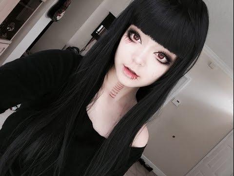 gothic dolly lolita anime girl
